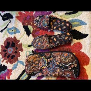 Vera Bradley Shoes - Vera Bradley slippers with pouch